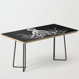 Octopus | Black and White Coffee Table