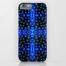 Sparkling Blue Turquoise Pattern Slim Case iPhone 6s