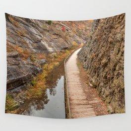 Paw Paw Boardwalk Trail Wall Tapestry