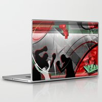 boxing Laptop & iPad Skins featuring Boxing by Tami Cudahy