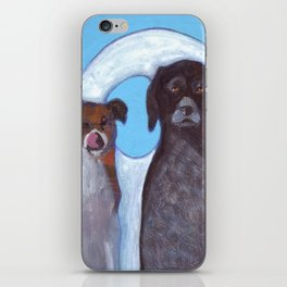Dogs in Greece iPhone Skin