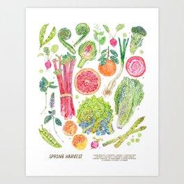 Spring Harvest Art Print