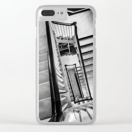 New York stairwell Clear iPhone Case