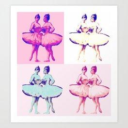 Ballet Pop Art Art Print