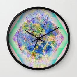 90 Degree Quantum Parallelogram Wall Clock