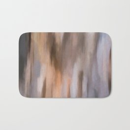 Abstract Earth Shades.  Like painted on canvas. Bath Mat