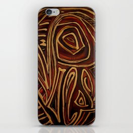 Egyptian abstraction iPhone Skin