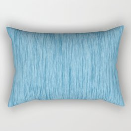 Crinkle in Blue Rectangular Pillow