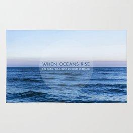 When Oceans Rise Rug