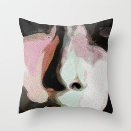 Blackberry Sherbet Throw Pillow