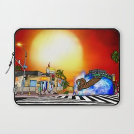 Santa Monica Gate Way Laptop Sleeve