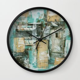 Abstract 01 Wall Clock