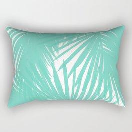 Palms Seafoam Rectangular Pillow