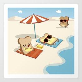 summer butter Art Print