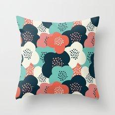 FlowerGarden Throw Pillow