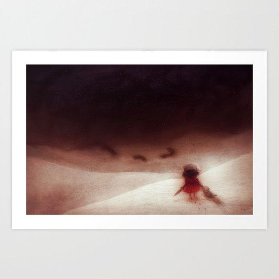 We'll Go Together (landscape) Art Print