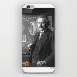 Imagination > Knowledge iPhone Skin