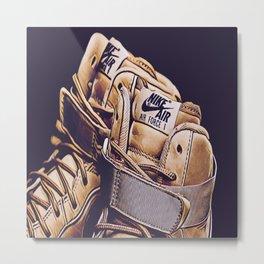 GOAT Sneaker Metal Print