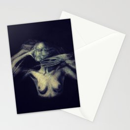 An Imprint (A Study of a Tortured Soul)  Stationery Cards
