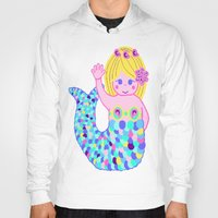 mermaids Hoodies featuring Mermaids by SqueakyAngel