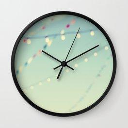 magical summer nights Wall Clock