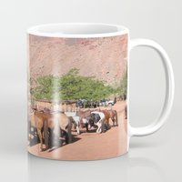 utah Mugs featuring Horses Utah by BACK to THE ROOTS