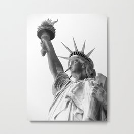 Statue of Liberty II Metal Print