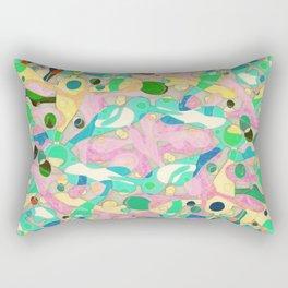 - pastel orgy - Rectangular Pillow