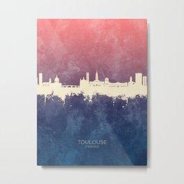 Toulouse France Skyline Metal Print