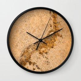 Vintage Moss Flourishes Wall Clock