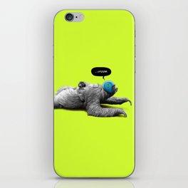 Speed Sloth iPhone Skin