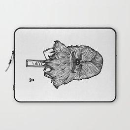 Mustache Wookiee Laptop Sleeve