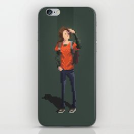 Ellie The last of us Pixel Art iPhone Skin