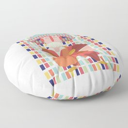 guerrab water seller Floor Pillow