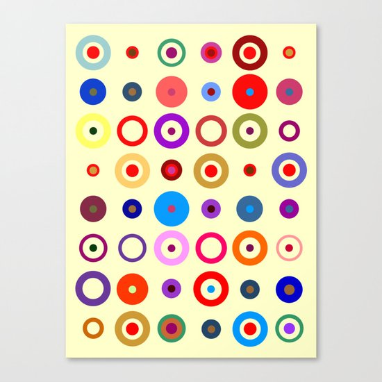 Op Art #7 Canvas Print