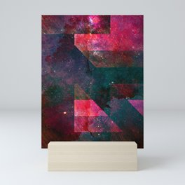 Pink Nebulae Mini Art Print