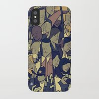 walking dead iPhone & iPod Cases featuring The Walking Dead by Ale Giorgini