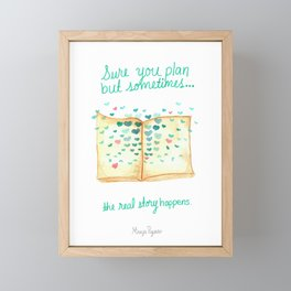 Sometimes Framed Mini Art Print