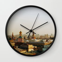 Rooftop of Moscow Wall Clock