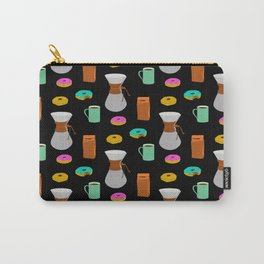 Donuts and Coffee Carry-All Pouch