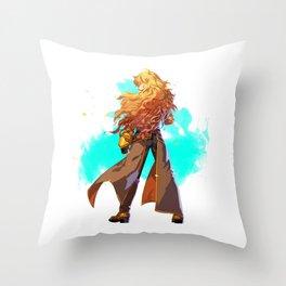RWBY Minimalist (Yang Xiao Long) Throw Pillow