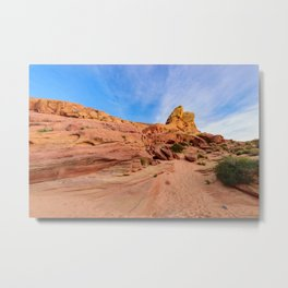 0202 Valley_of_Fire_State_Park, Nevada Metal Print