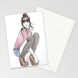 'Socks' Illustration Stationery Cards