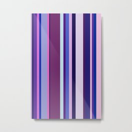 Stripes in colour 8 Metal Print