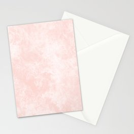 Pink Coral Marble Stationery Cards