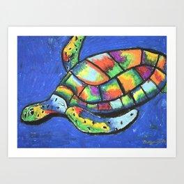 SeaTurtle Art Print
