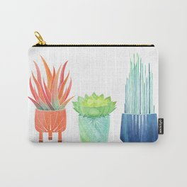 Succulent Watercolor Carry-All Pouch