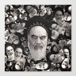 Horned Ayatollah Monsters Canvas Print