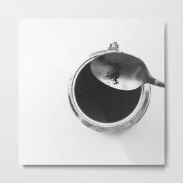 Coffee routine Metal Print