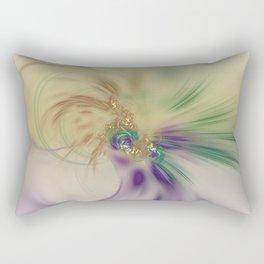 Fall Festive Fractal Rectangular Pillow